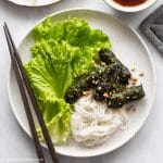 Vietnamese Grilled Beef in Wild Betel Leaves