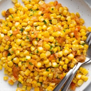 Vietnamese Butter Sweet Corn with Dried Shrimps (Bap Xao)