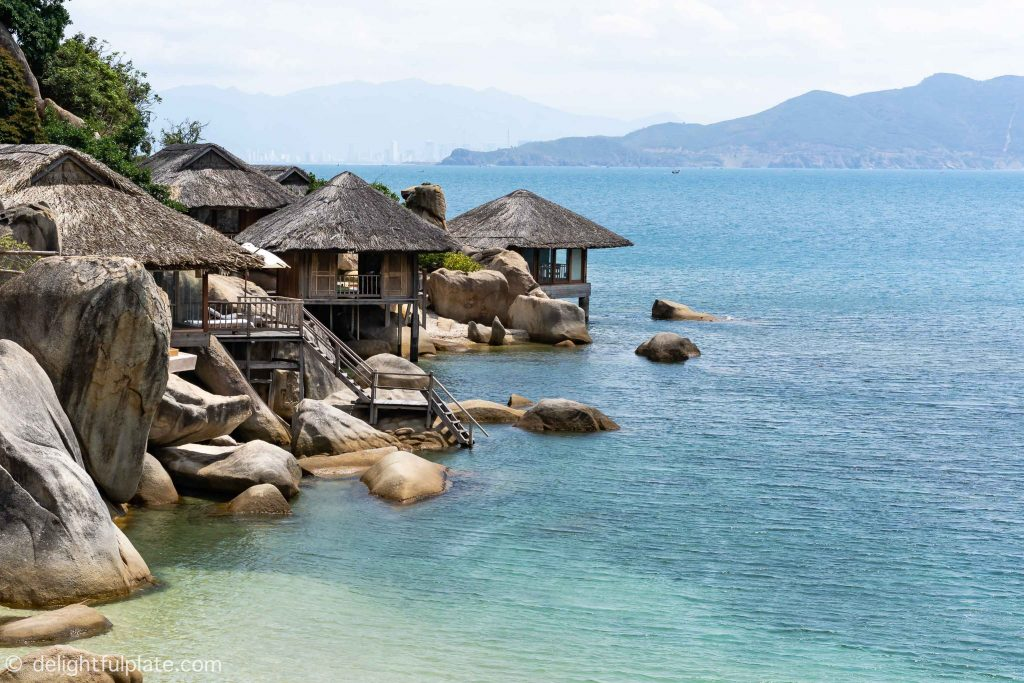 Villa on the rock at Six Senses Ninh Van Bay