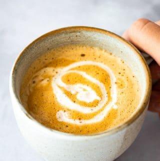 Vietnamese Coconut Coffee (Cafe Cot Dua)