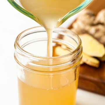 How to Make Ginger Syrup for Drinks
