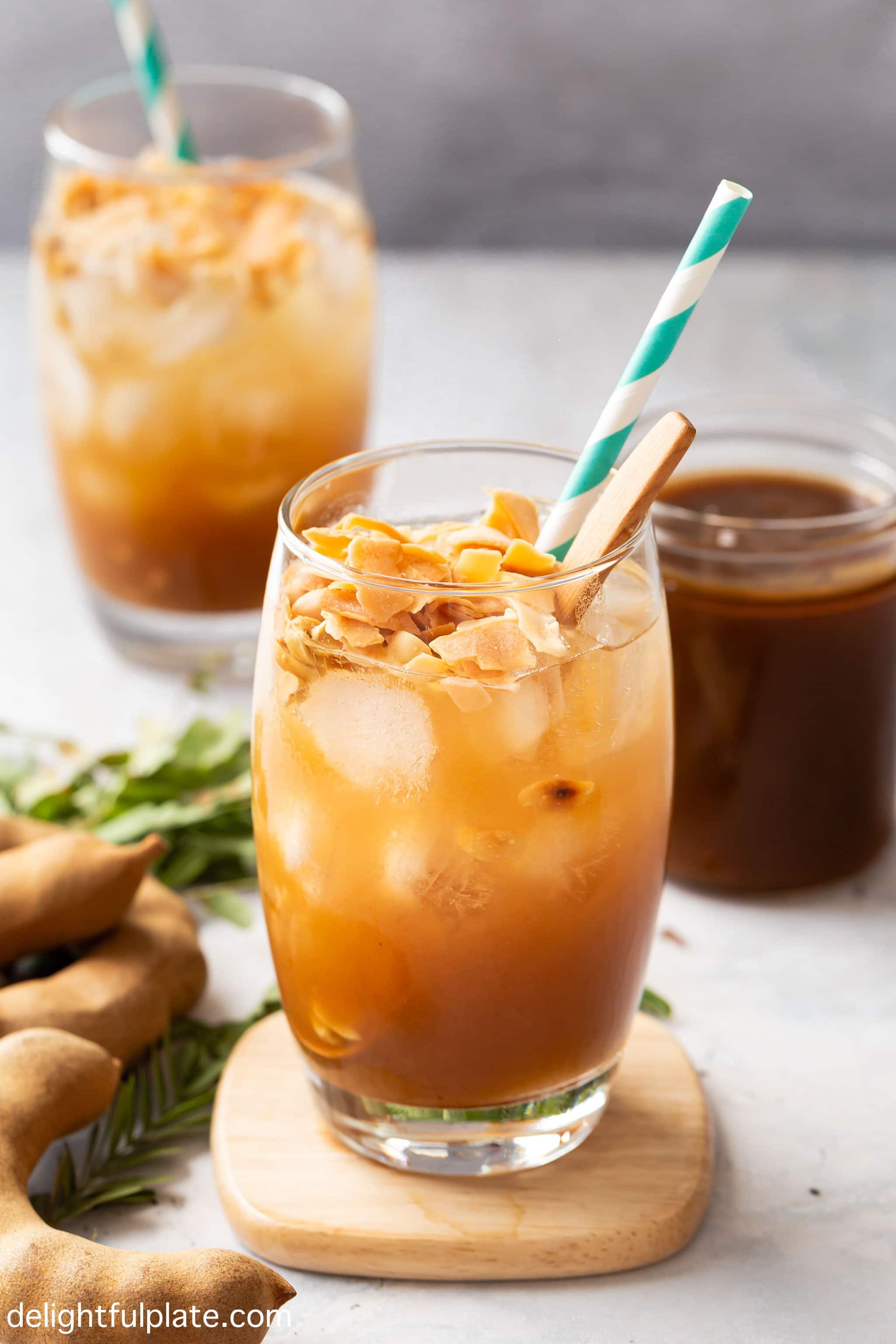 glasses of tamarind juice