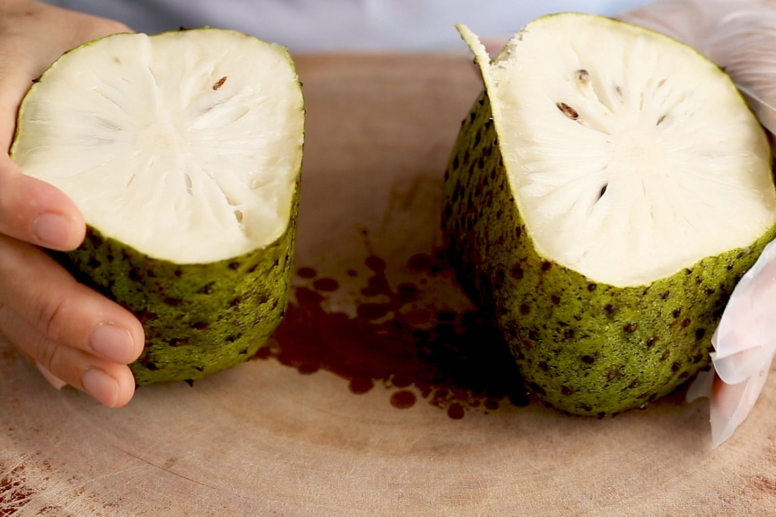 a soursop fruit