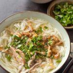 Bun Mang Vit (Vietnamese Duck Vermicelli Noodle Soup)