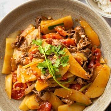 Vietnamese Beef Potato Stir-fry (Thit Bo Xao Khoai Tay)