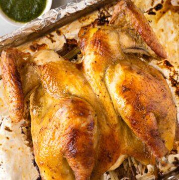 Vietnamese Lemongrass Roast Chicken
