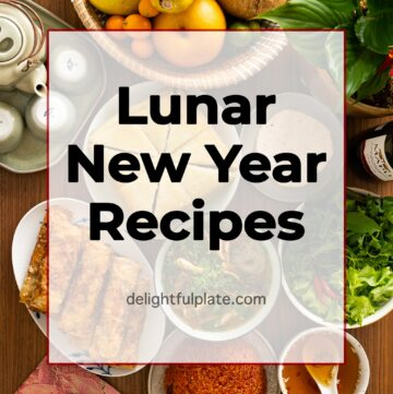 a traditional Vietnamese feast for Lunar New Year celebration
